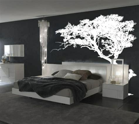 d馗oration chambre noir et blanc quelques idées de décoration murale originale archzine fr
