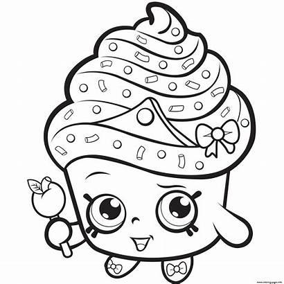 Coloring Shopkins Princess Cupcake Bubakids Thousands Through