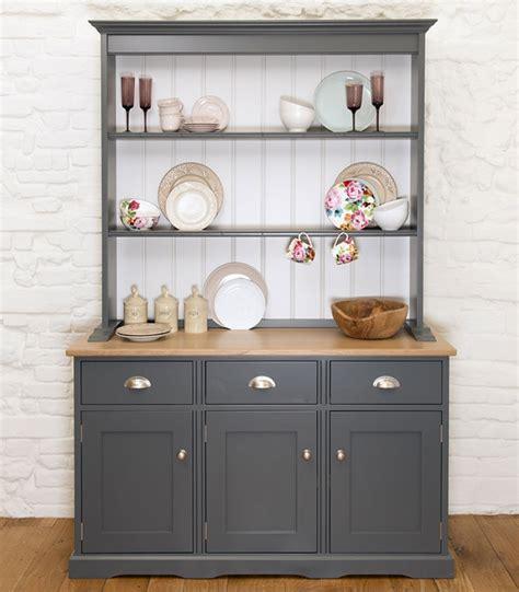 contemporary kitchen dresser free standing painted kitchen dressers kitchen larders 2485