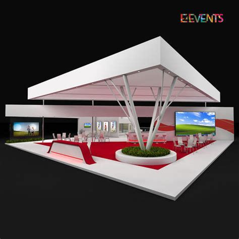 customized exhibition stand design  exhibition stall