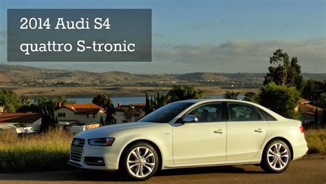 2014 Audi S4 Horsepower by 2014 Audi S4 Quattro S Tronic Review The Unofficial Audi