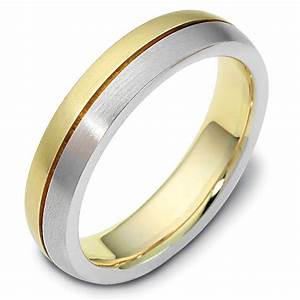 117111 gold wedding ring together forever With wedding rings together