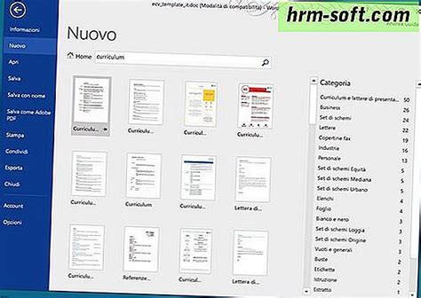 Software To Make Cv by Se Un Curriculum Vitae Cu Word Hrm Soft