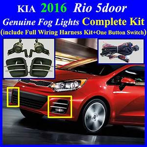 2016  Kia Rio 5door Fog Light Complete Kit Wiring Harness