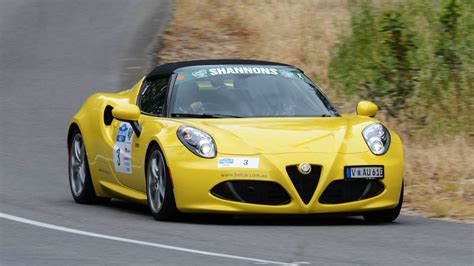 Classic Adelaide Rally In The Alfa Romeo 4c Spider Youtube