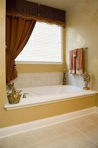 17 best images about beautiful window treatments on With 5 basic bathroom window treatments