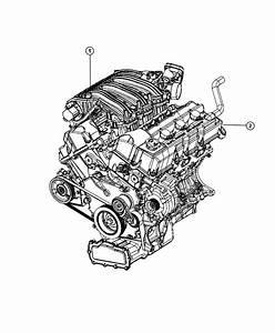 2009 Dodge Charger Base 2 7l V6 Engine  Long Block