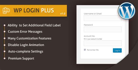 Wp Login Plus By Pluginpunch Codecanyon