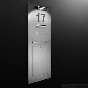 Hausnummer Beleuchtet Led : 89 besten briefkasten made in germany bilder auf pinterest ~ Frokenaadalensverden.com Haus und Dekorationen