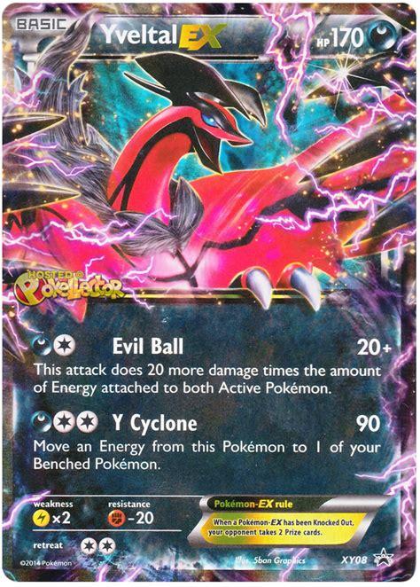 yveltal ex xy promos 8 pokemon card