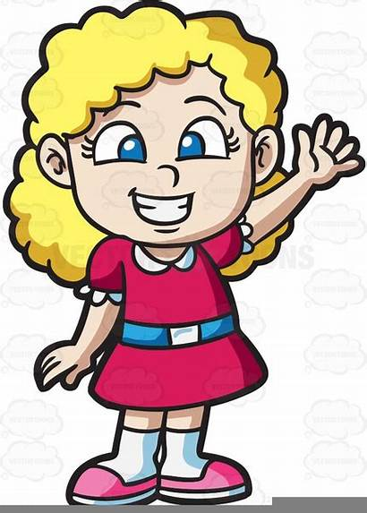 Clipart Curly Blonde Clip Hair Excited Angry