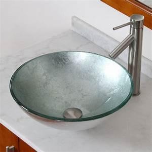 20 Glass Sink Design Ideas For Bathroom - InspirationSeek com