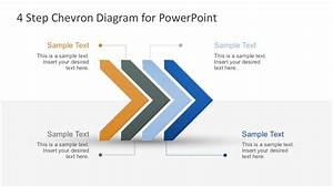 Free Modern Chevron Diagram For Powerpoint