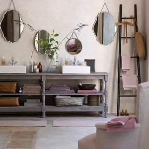 Meuble De Drapier : salle de bain vintage salle de bain pinterest ~ Teatrodelosmanantiales.com Idées de Décoration