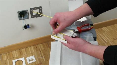fo outlet optical termination outlets youtube