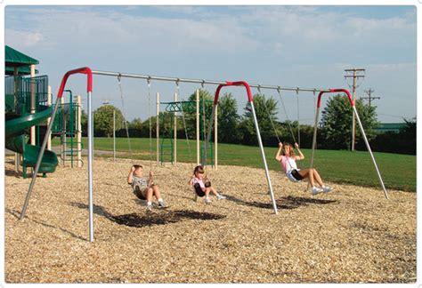 Modern Bipod Swings  Playground Equipment For Commercial