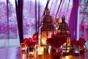 Lanterne Deco Interieur : l 39 irrempla able lanterne marocaine dans la d co orientale ~ Teatrodelosmanantiales.com Idées de Décoration