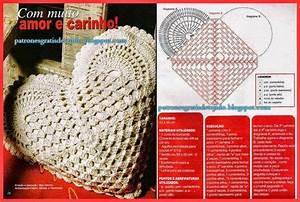 Romanticismo En Almohadones Al Crochet