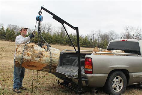 homemade pickup truck homemade truck crane patent pending pinterest