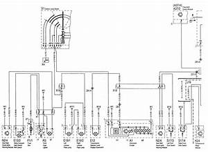 Mercedes-benz C220  1994 - 1996  - Wiring Diagrams - Exterior Lighting