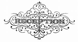 Vintage Black and White Clip Art - Wedding Typography ...
