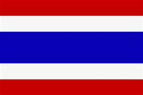 Flagge Thailand — Kiepe Elektrik