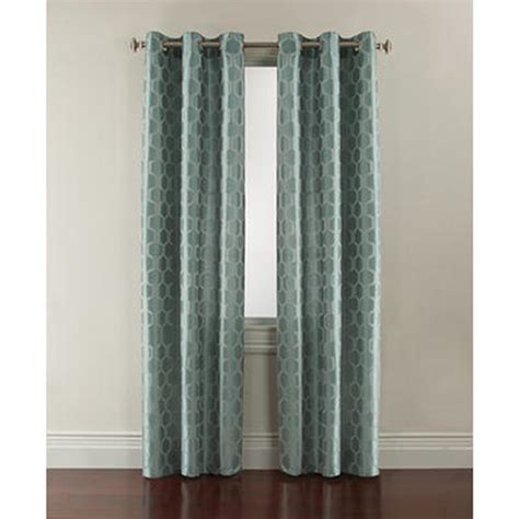 kmart curtains and rods essential home radius grommet window panel honeycomb