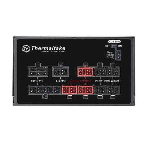 thermaltake toughpower grand rgb  gold rgb sync edition