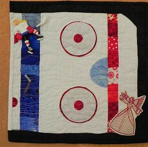 Bell Creek Quilts  My Angel Of Light Quilt   Hockey Style