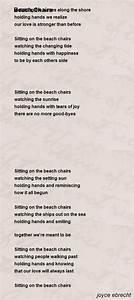 About A Chair : beach chairs poem by joyce ebrecht poem hunter comments ~ A.2002-acura-tl-radio.info Haus und Dekorationen