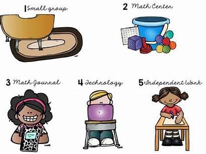 Math Guided Clipart Kindergarten Teaching Grade Centers