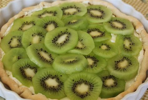 cuisiner au lait de coco tarte au kiwi cuisiner c 39 est facile