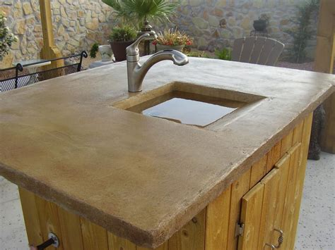 concrete kitchen sink cool outdoor garden sinks outdoor decorations 2431