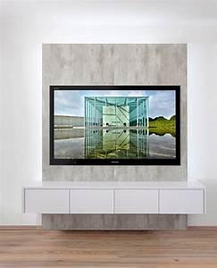 Fernseher An Die Wand Hängen Ohne Halterung : fernseher an die wand ~ Michelbontemps.com Haus und Dekorationen