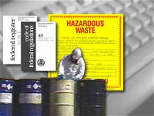 Eduwhere: RCRA Hazardous Waste Management for Generators