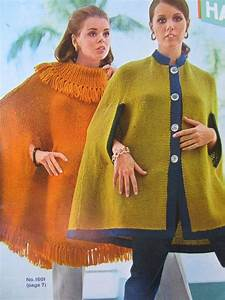 Items Similar To 2 Knitted Cape Patterns