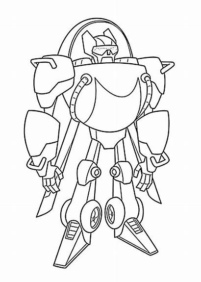 Bots Rescue Coloring Pages Transformers Blades Printable