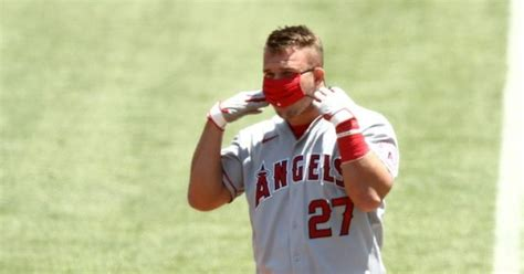 Trout takes a break from Angels to welcome first child ...