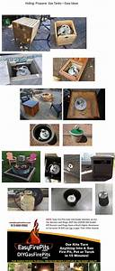 Pin, By, Easyfirepits, Com, Diygasfirep, On, How, To, Build, Your, Own, Diy, Gas, Fire, Pit, Fire, Table