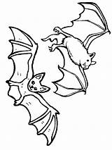 Bat Coloring Pages Print sketch template