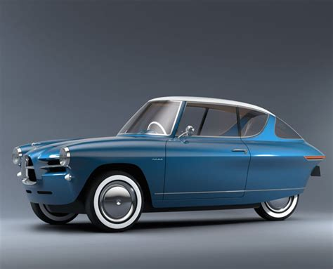 New Cars That Look Retro by Nobe 100 Electric Car Features Timeless Retro Design With