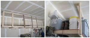 Rangement Plafond Garage : 14 super id es de rangement pour le garage ~ Melissatoandfro.com Idées de Décoration