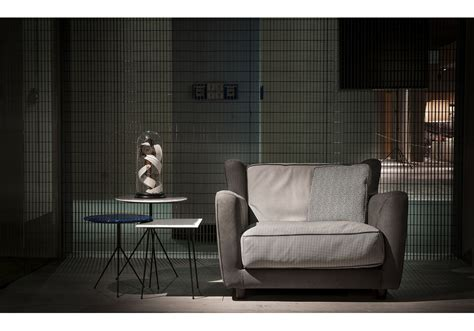 Bergére Longe Special Edition Printed Baxter Armchair