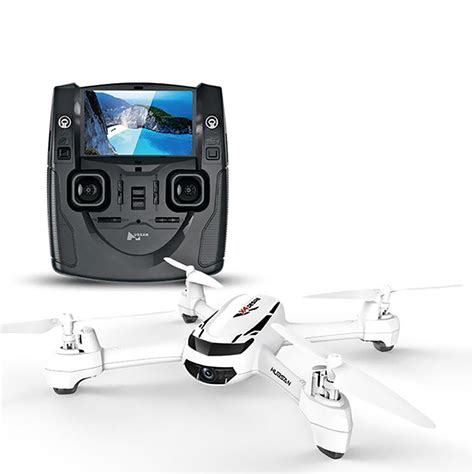 hubsan  hs rc drone quadcopter  p camera realtime gps headless  degree spin