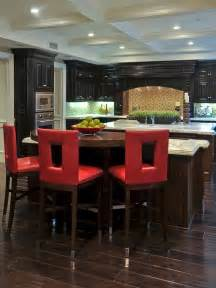 Scoop Bar Stool by 25 Colorful Kitchens Kitchen Ideas Amp Design With