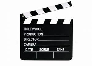 Objet Deco Cinema : d coration de table clap cin ma article de f te ~ Melissatoandfro.com Idées de Décoration