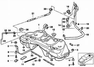 Original Parts For E38 730d M57 Sedan    Fuel Supply   Metal Fuel Tank
