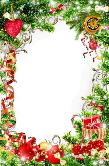 bright christmas frame  photo processing christmas