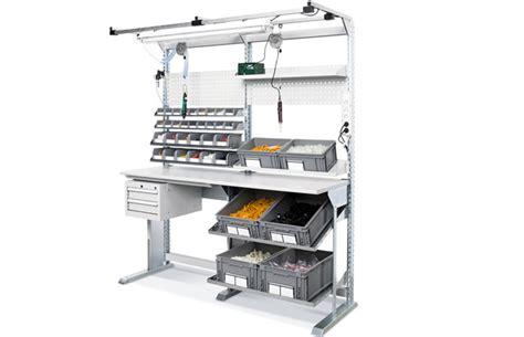 bloc tiroirs bureau table de travail ergonomique ergonomie mobilier industriel