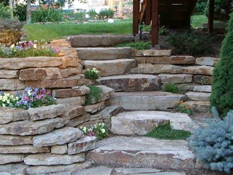Garten Gestalten Naturstein naturstein platten zum gestalten einer treppe garten neu